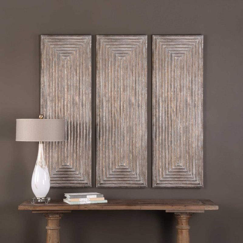 Uttermost Lokono Wood Wall Panel