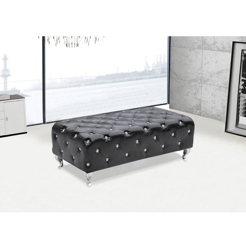 Fine Mod Imports Tufted Bench