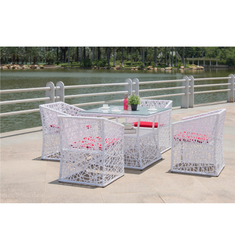 Fine Mod Imports Thin Outdoor  Dining Set