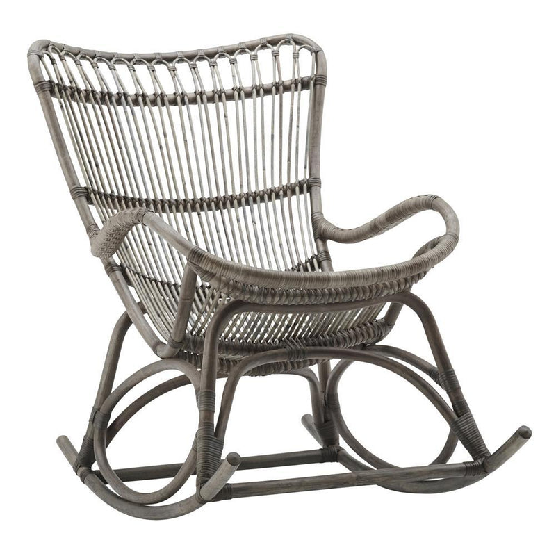Sika Design Monet Rocking Chair - Taupe Grey