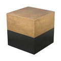 Dimond Home Draper Table In Black And Gold