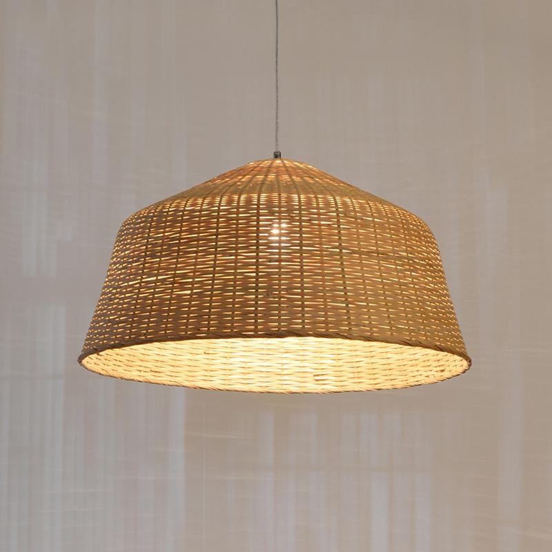 Bamboo Nordic Country Ceiling Lamp