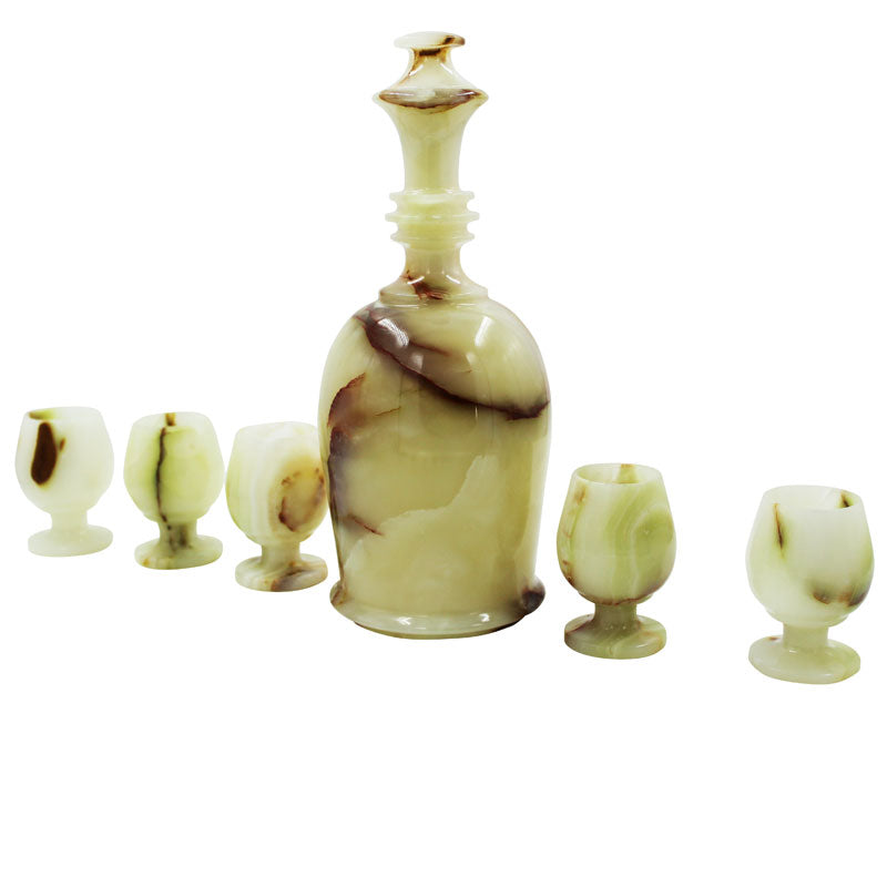 Wine Decanter & Goblets  Set -II