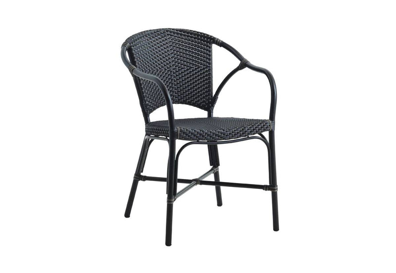 Sika Design Valerie Alu Chair-Black