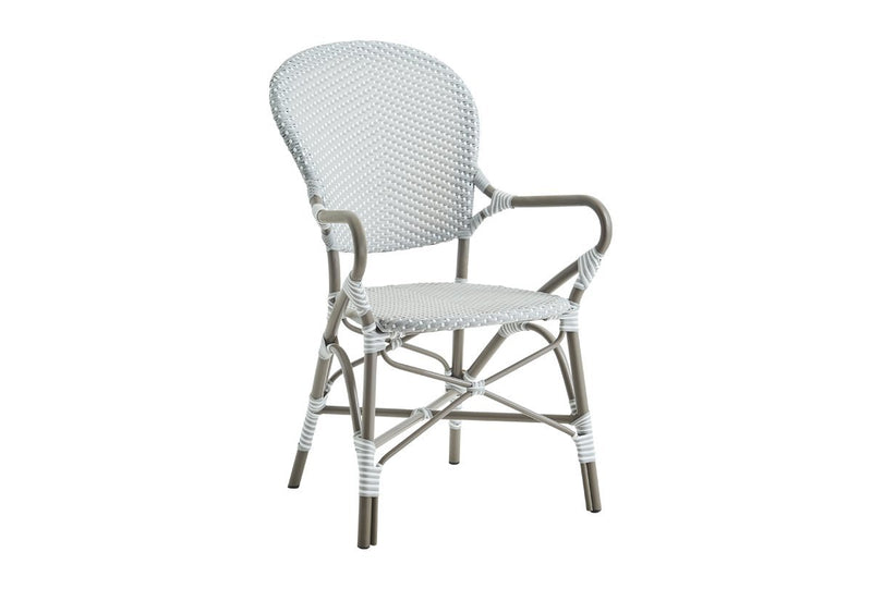 Sika Design Isabell Alu Arm Chair Grey