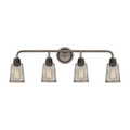 Glencoe Vanity Light in Oil Rubbed Bronze with Weathered Zinc Metal Mesh by ELK Lighting