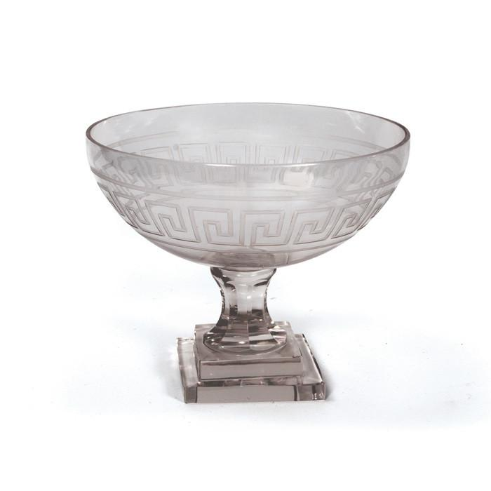 Mykonos Pedestal Bowl by GO Home
