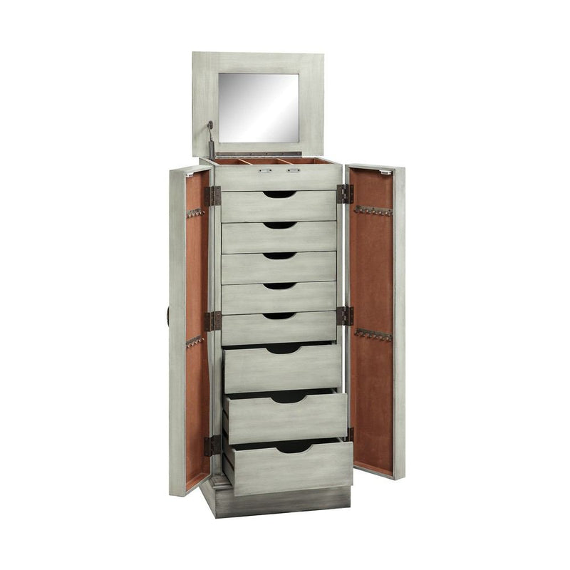 Stein World Ellis Mirrored Jewelry Armoire
