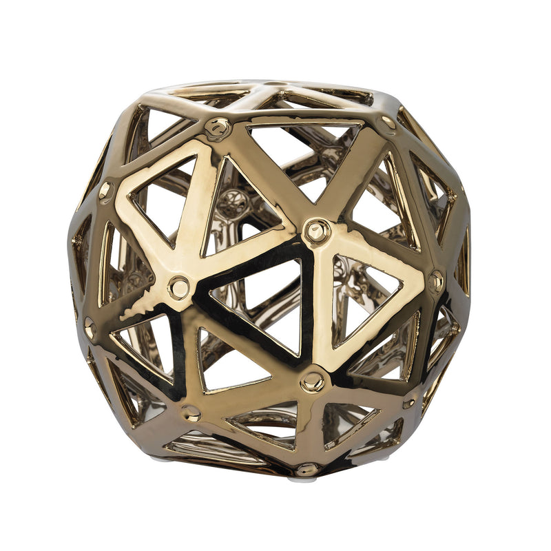 Dimond Home Perforated Multi-Hexagonal Stand