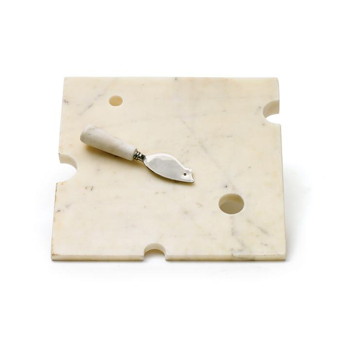 Hunk Of Cheeseboard & Knife by GO Home