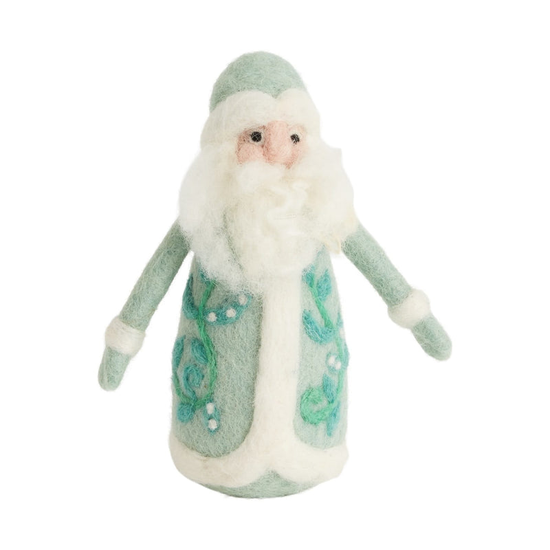 Father Christmas Figurine Set of 10 By Accent Decor