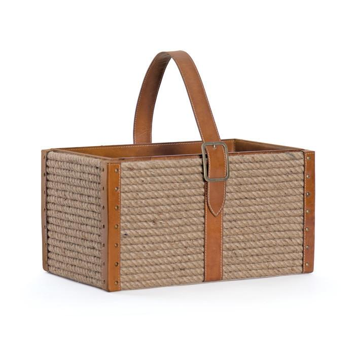 Peconic Rope Basket by GO Home