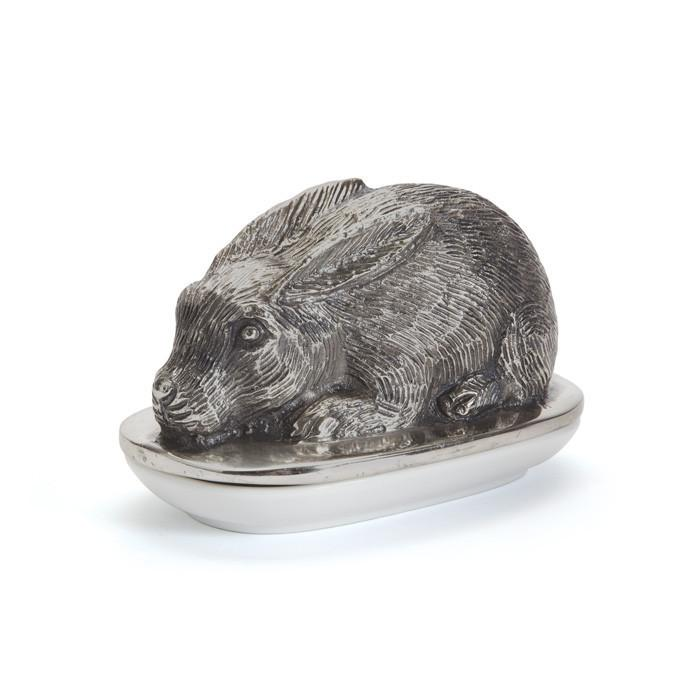 Rabbit Butter Dish - Set Of 2 by GO Home