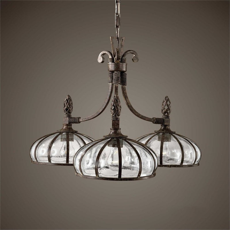 Uttermost Galeana 3 Lights Chandelier