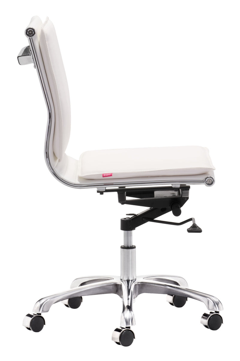Zuo Lider Plus Armless Office Chair