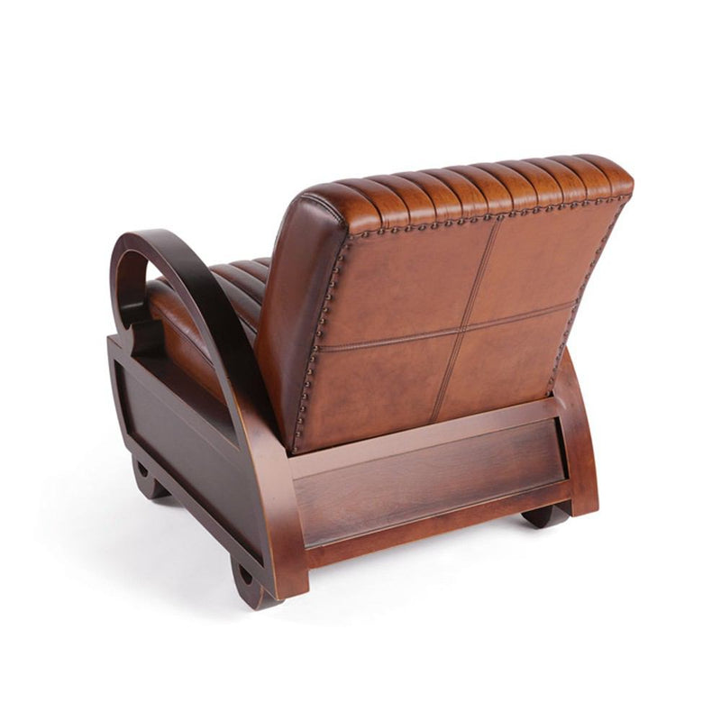 GO Home Darmody Leather Chair