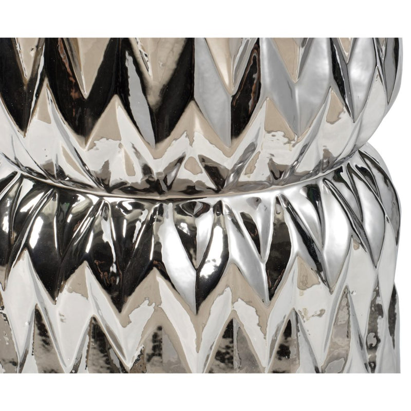 A&B Home Timeless Chevron Pattern Side Table