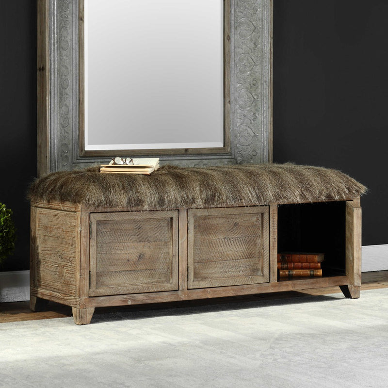 Uttermost Truett Storage Bench