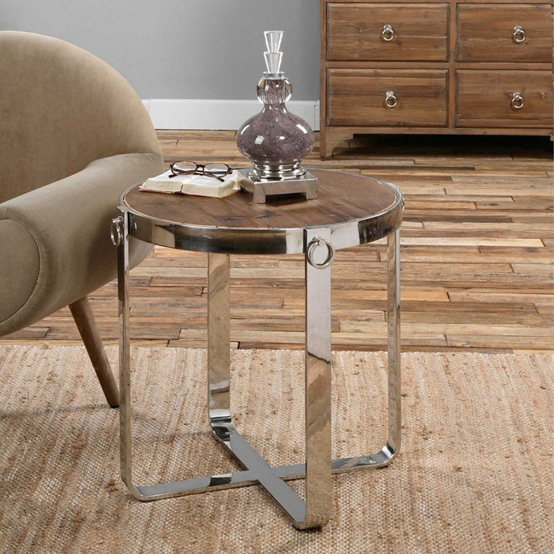 Uttermost Berdine Side Table