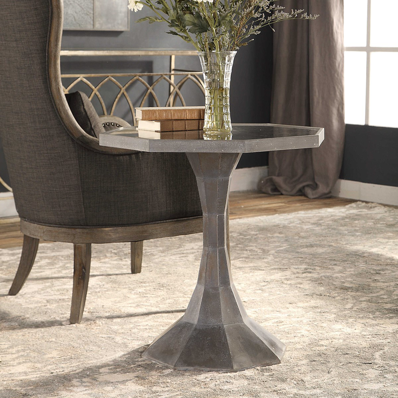 Uttermost Aharon Lamp Table
