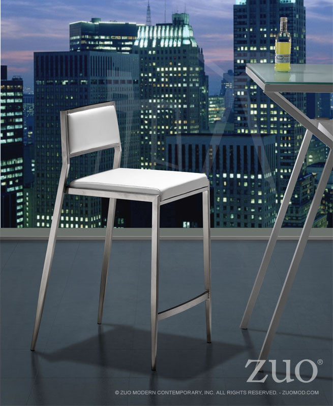 Zuo Dolemite Counter Chair - Set Of 2