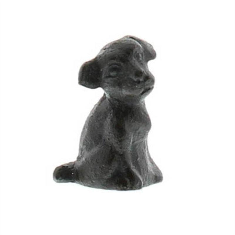 HomArt Tiny Puppy - Cast Iron - Antique Black