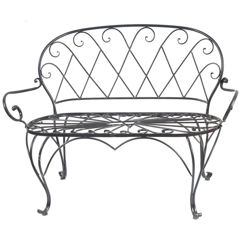 A&B Home Outdoor Bench