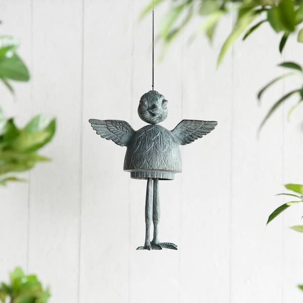 Wild Bird Wind Chime By SPI Home