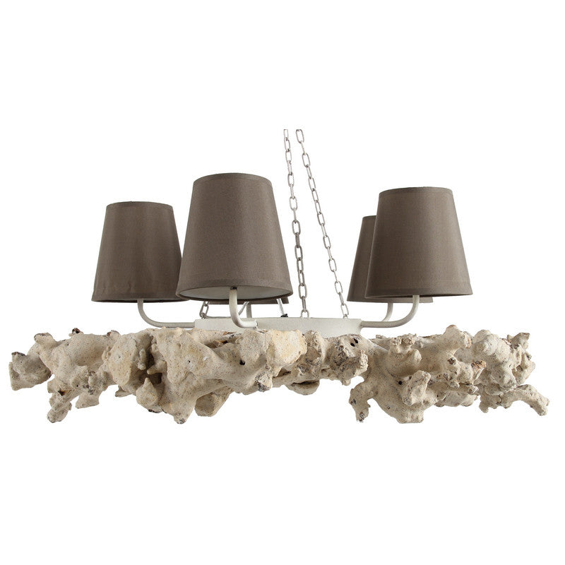 "A&B Home 4 Light  12"" Chandelier"
