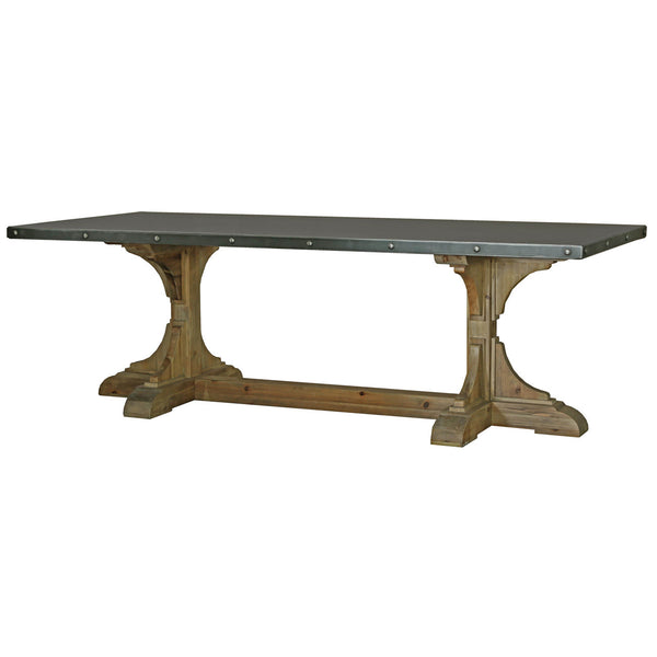 A&B Home Iron & Recycled Wood Dining Table