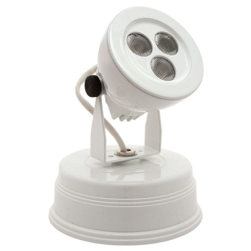 Cal Lighting 425-9-40D3K-WH 9W Led Spot Light With Built In Driver