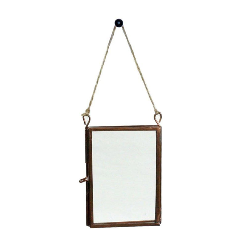 HomArt Cornell Ornament Frame - Rectangle - Wallet - Copper - Set of 4