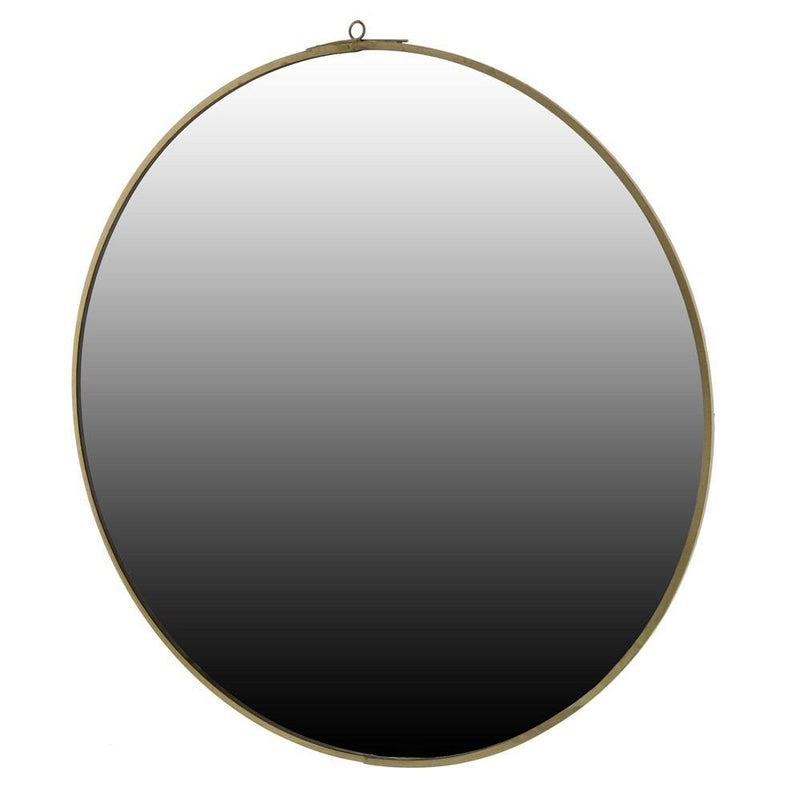 HomArt Monroe Round Mirror - Brass - Set of 4 - Feature Image