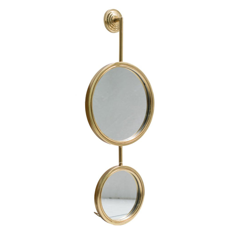 A&B Home Gold Iron Mirror