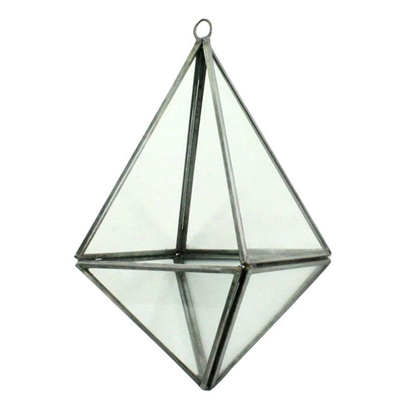 HomArt Pierre Geometric Terrarium - Zinc - Set of 4 - Feature Image