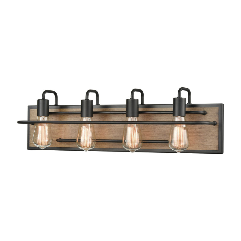 Copley Vanity Light in Matte Black and Aspen by ELK Lighting