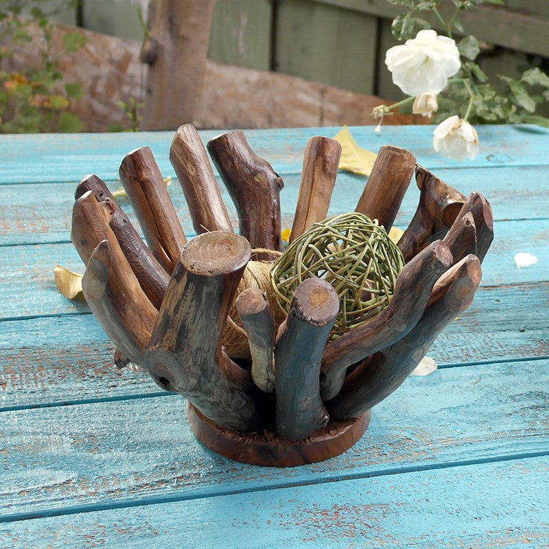 Garden Age Supply Harini Driftwood Branch Bowls - Set Of 3 Decorative Bowls, Garden Age Supply, - Modish Store