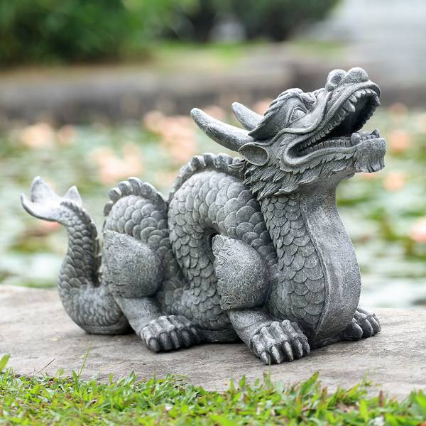Honorable Dragon Garden Sculpt By SPI Home