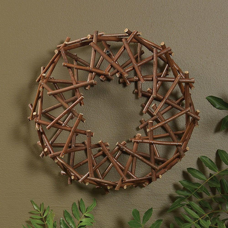 HomArt Willow Wreath - Small - Natural - Set of 6 - Feature Image