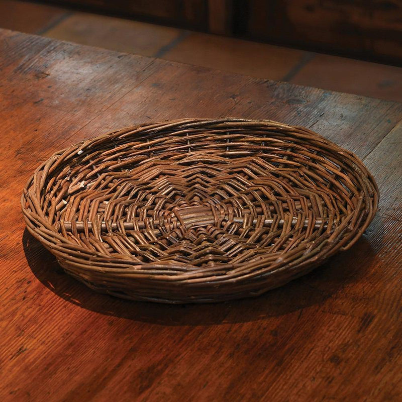 HomArt Willow Charger Round - Natural - Set of 4