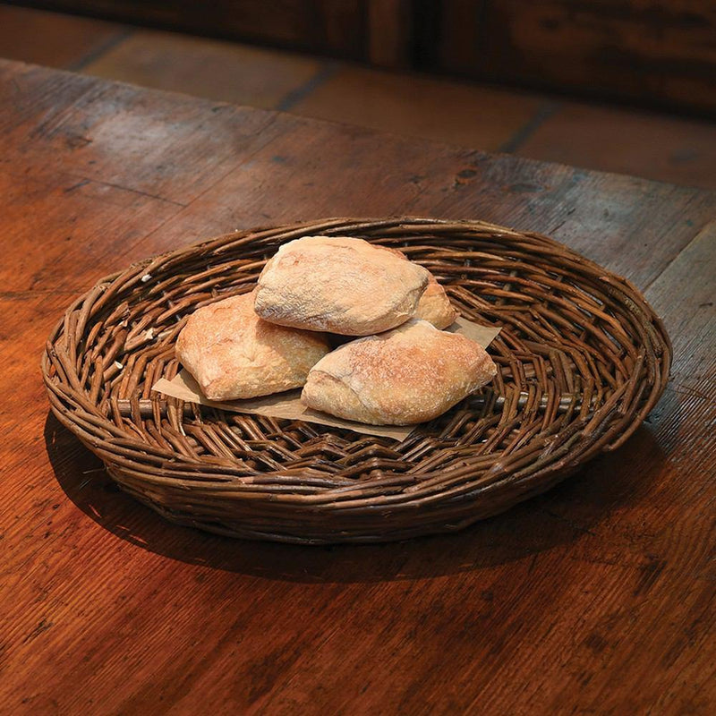 HomArt Willow Charger Round - Natural - Set of 4 - Feature Image