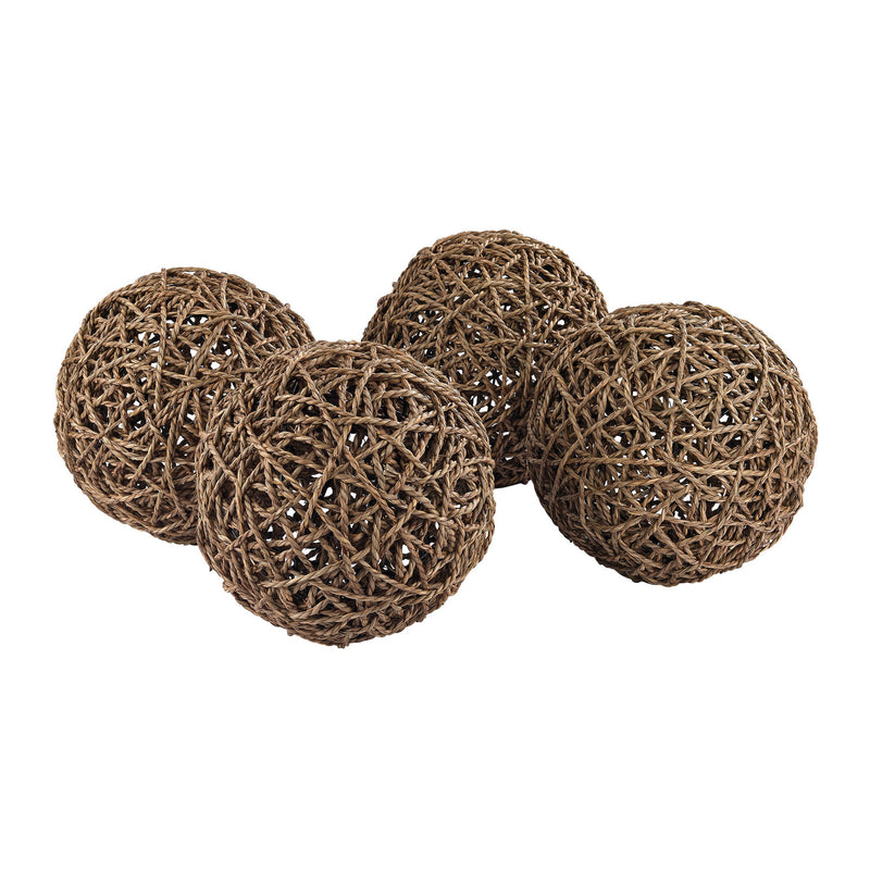 Dimond Home Natural Decorative Orb - Set Of 4