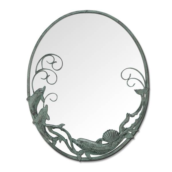 Dolphin Trio Mirror By SPI Home