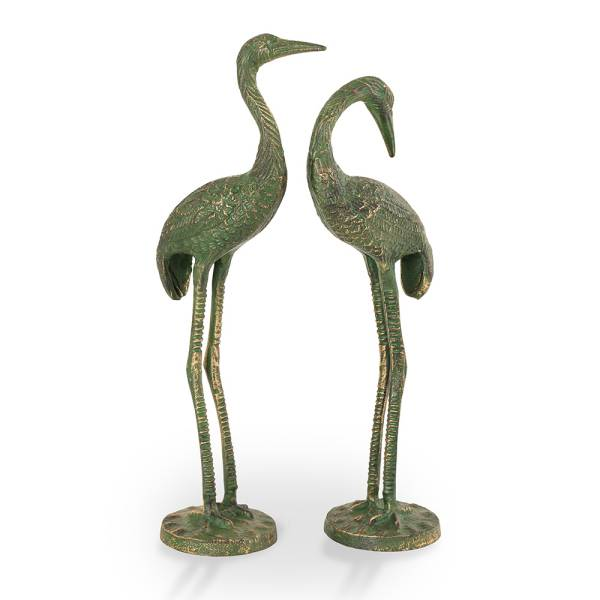 "Bashful Cranes S/2 (17""H, 16""H By SPI Home"