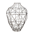 Dimond Home Wire Vessel In Russet