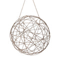 Dimond Home Aged Iron Wire Sphere