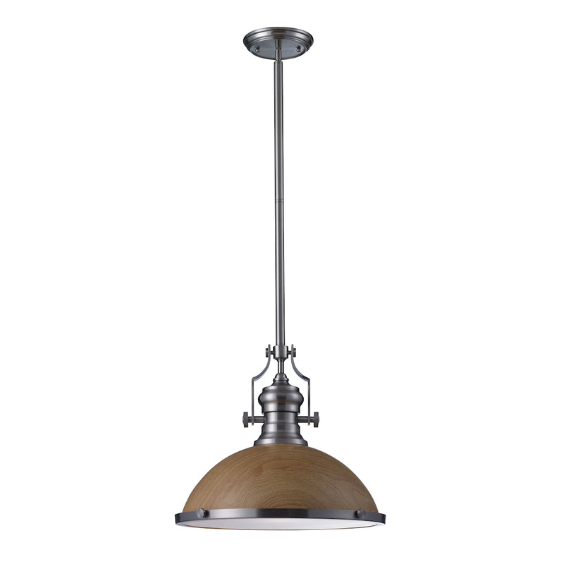 Chadwick 1- Light Pendant In Satin Nickel ELK Lighting
