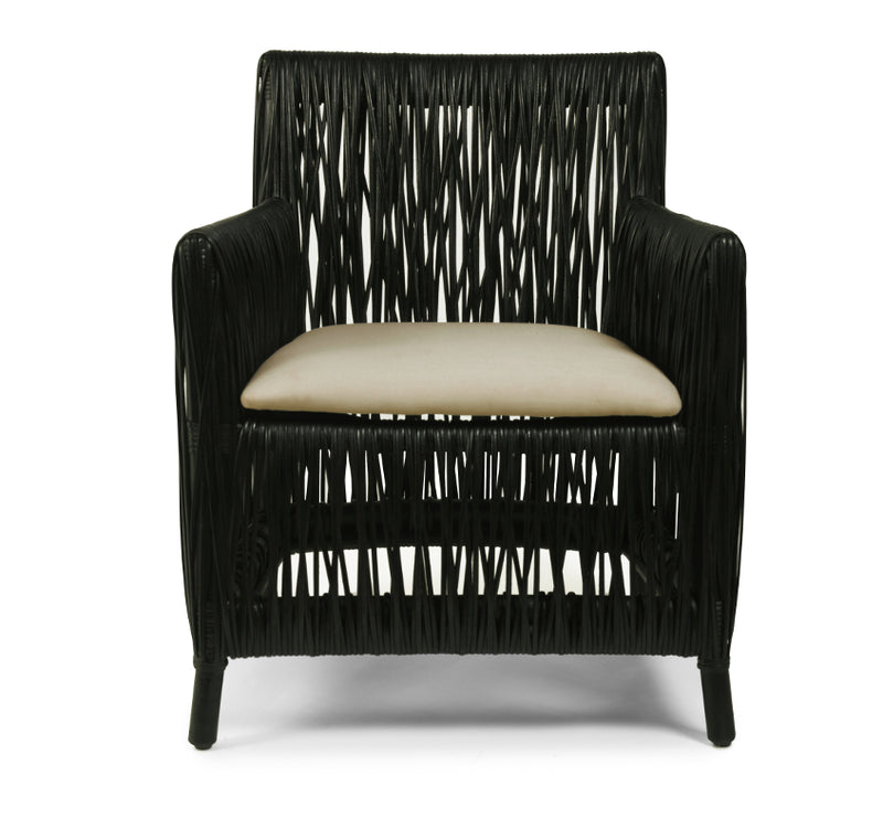 Oggetti Hatch Black/Natural Chair