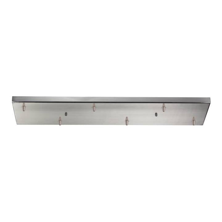 Illuminare Accessories Rectangular Pan for 6 Lights in Satin Nickel ELK Lighting