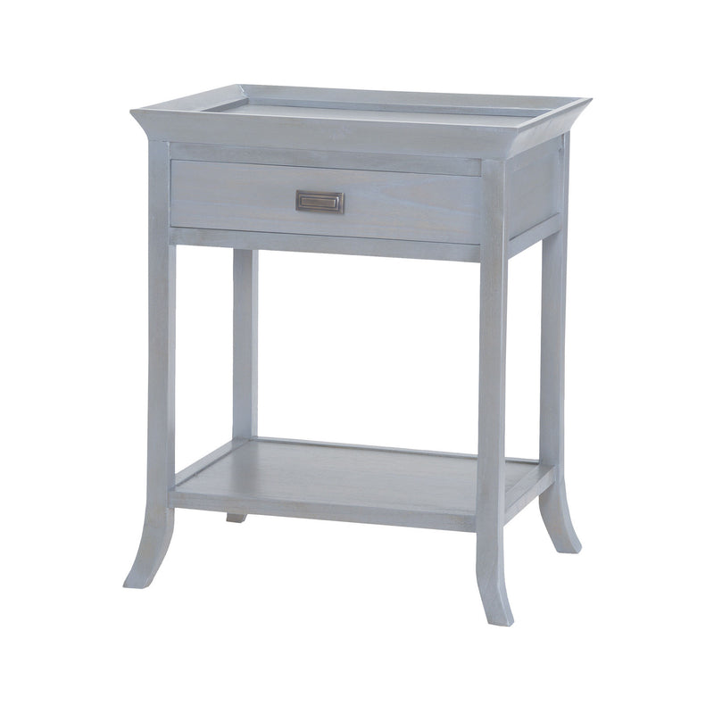 Sterling Industries Tamara Accent Table In Gravesend Grey